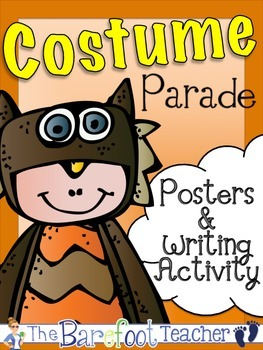 Costume Parade Posters (12 Total) and Writing Activity