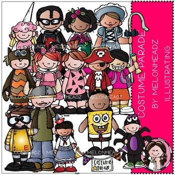 Melonheadz: Costume Parade clip art - COMBO PACK