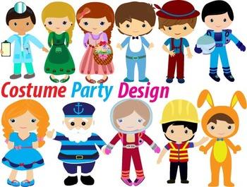 Costume Party Clip Art birthday Halloween baby kids dentis