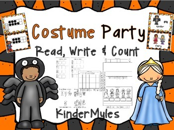 Costume Party Read Write & Count