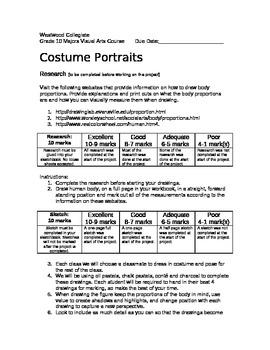 Costume Portraits