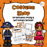 Costume Shop Dramatic Play and Writing Center