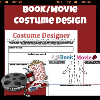 Costume design book and movie comparison