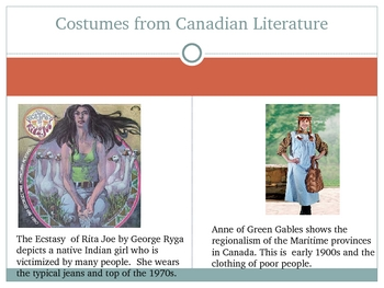 Costumes From Literature