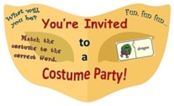 Costumes/Vocabulary Jigsaw Puzzles/Halloween: Characters &