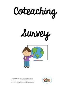 Coteaching Planning Form