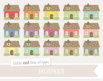 Cottage Clipart; House