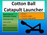 Cotton Ball Catapult Launcher Activity