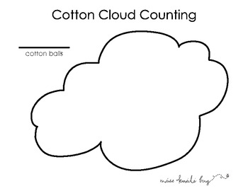 Cotton Ball Cloud Counting