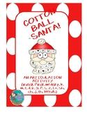 Cotton Ball Santa Artic