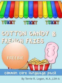 Cotton Candy and French Fries! Freebie