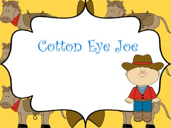 Cotton Eye Joe: A Song to Teach Low So