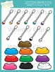 Cotton Swab Kids Clip Art