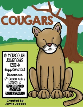 Cougars (Journeys 5th Gr. - Supplemental Materials)