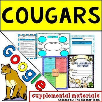 Cougars Journeys 5th Grade Unit 2 Lesson 10 Google Digital Resource