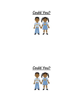 Could You? - Sight Word Reader - Emergent Reader - Guided