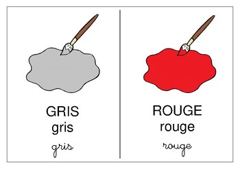Couleurs / Colors (FRENCH ) // Learn the colors in FRENCH