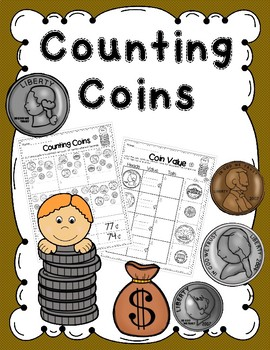 Counitng Coins - cut and paste