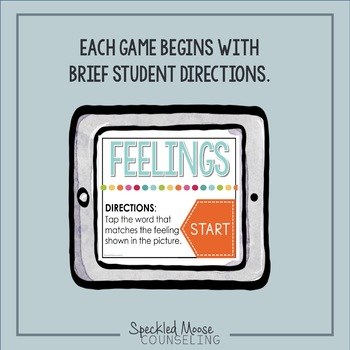 Counseling Activity: Feelings identification digital game