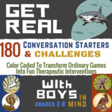 Boy's Groups: Social Emotional Learning & Self Esteem Game for Counseling Boys