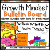 Counseling Bulletin Board For Growth Mindset Halloween