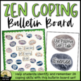 Counseling Bulletin Board Set Zen Coping Skills