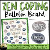 Counseling Bulletin Board Set Zen Coping Skills