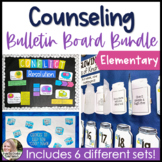 Counseling Bulletin Boards Elementary School Growing Bundle