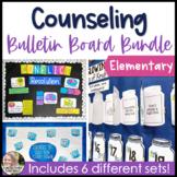 Counseling Bulletin Boards Elementary School Growing Bundle