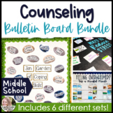 Counseling Bulletin Boards Middle School Growing Bundle