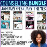 Counseling Bundle with January and February Themes