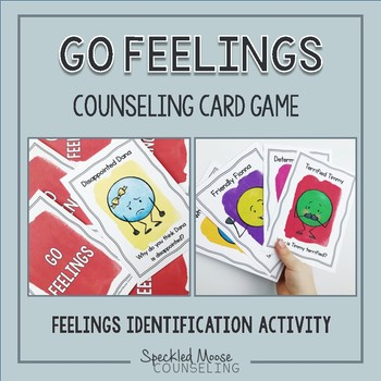 Counseling Card Game: Feelings Go Fish