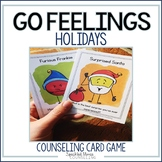 Counseling Card Game: Feelings Go Fish (Christmas-themed)