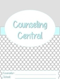 "Counseling Central Binder Set ""Classy"" {Aqua-Gray Set}"