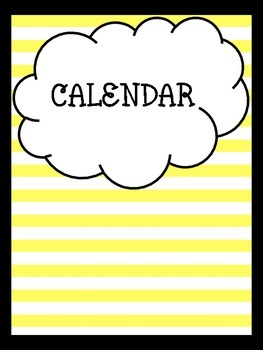 """Counseling Central Binder Set """"Cheerful"""" {Bumblebee Yellow-Black}"""