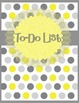 """Counseling Central Binder Set """"Happy""""  {Gray-Yellow}"""
