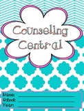 "Counseling Central Binder Set with Tabs/Spines ""Frilly"" {T"
