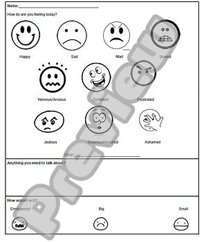 Counseling Check-Ins: How Do You Feel Today?