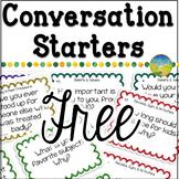Conversation Starters Free Sampler