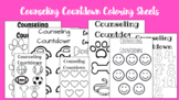 Counseling Countdown Coloring Sheets