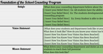 Counseling Department Curriculum Mapping