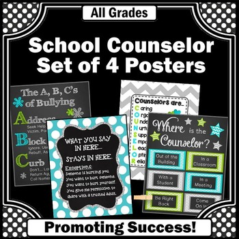 School Counselor Appreciation Week End of the Year Gifts Counseling Office Door