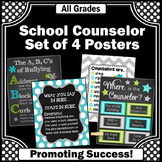 Where is the School Counselor Sign Confidentiality Rules Counseling Office Decor