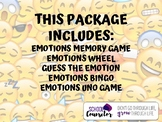Counseling Emotions Games Package