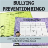 Counseling Game: Bullying Prevention Bingo