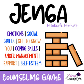 Counseling Game - Jenga