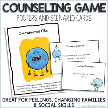 Feelings Posters & Game: Changing Families and Social Skills