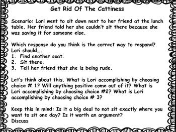 Counseling Girl Drama: Cattiness...Gone