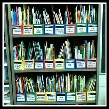 Counseling Library Labels