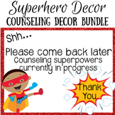 Superhero Counseling Decor